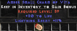 <center><b>Europe Ladder</b><br>20 Life / 11 Light Resist Small Charm