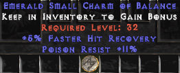 <center><b>East Ladder</b><br>5% FHR / 11 Poison Res Small Charm