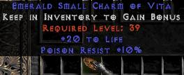 <center><b>Europe Ladder</b><br>20 Life / 10 Poison Resist Small Charm