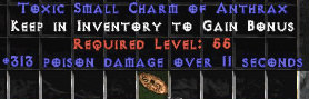 <center><b>East Ladder</b><br>313 Poison Damage Small Charm