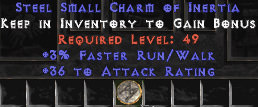 <center><b>East Ladder</b><br>3% FRW / 36 Attack Rating Small Charm