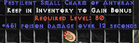 <center><b>West Non-Ladder</b><br>10x pack of 451 Poison Damage Small Charm