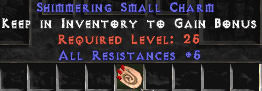 <center><b>HC Europe Ladder</b><br>1 x 5 All Resist Small Charm