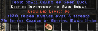 <center><b>East Ladder</b><br>100 Poison Damage / 7% MF Small Charm