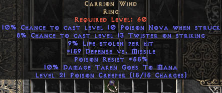 <center><b>Europe Non-Ladder</b><br>Carrion Wind 9% LL