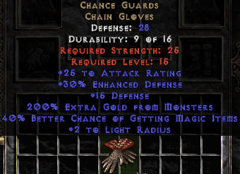 <center><b>West Non-Ladder</b><br>Chance Guards - 30% ED & 40% MF - Perfect