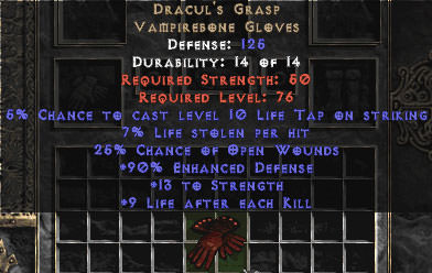 <center><b>East Ladder</b><br>Dracul's Grasp