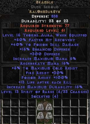 <center><b>Europe Ladder</b><br>Bramble 15% ed Dusk Shroud UNMADE