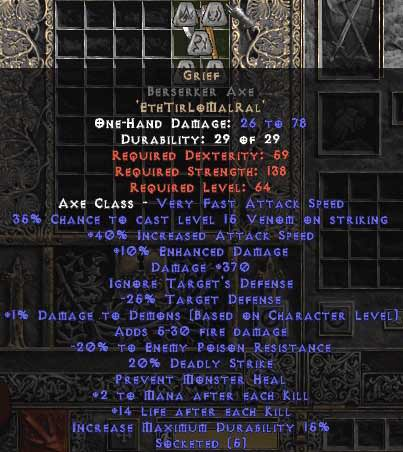 <center><b>Europe Ladder</b><br>Grief Berserker Axe 40/340-399/20-25, 0-14 ed</center>