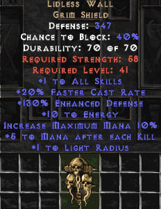 <center><b>East Ladder</b><br>Lidless Wall - 130% ED & 5 Mana - Perfect