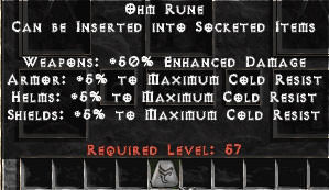 <center><b>East Non-Ladder</b><br>Ohm Rune