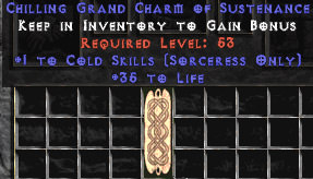 <center><b>West Ladder</b><br>Sorceress Cold 30-34 Life GC