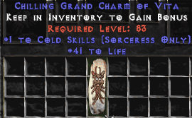<center><b>Europe Non-Ladder</b><br>Sorceress Cold 40-44 Life GC