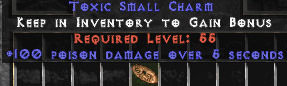 <center><b>East Ladder</b><br>1 x 100 Poison Damage Small Charm