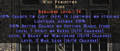 <center><b>East Non-Ladder</b><br> Wisp Projector 20% LA & 20% MF - Perfect